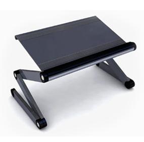 ราคา โต๊ะวางโน๊ตบุ๊คเอนกประสงค์ โต๊ะวางคอมพิวเตอร์ โต๊ะวางโน๊ตบุค โต๊ะวาง โน๊ตบุคพับได้ ปรับระดับสูงต่ำ/ความเอียง(ไม่มีพัดลม)